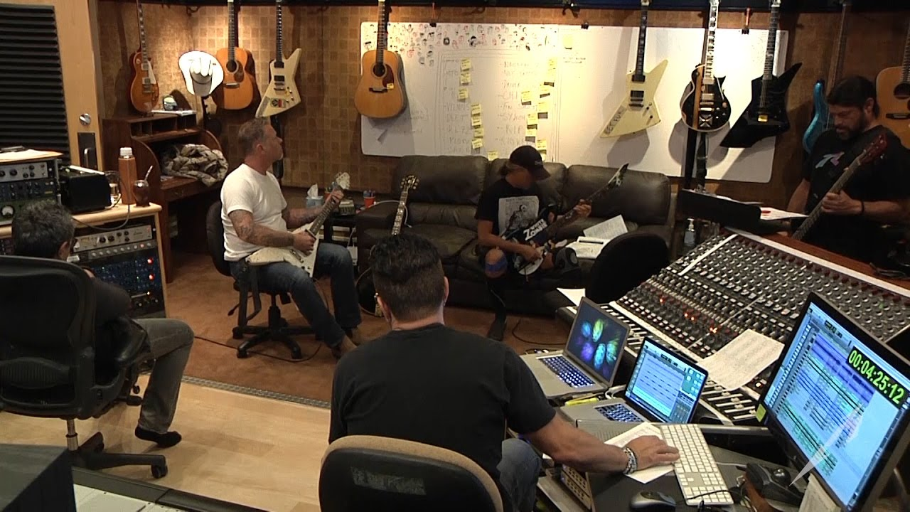 "Metallica: Tin Shot - The Making of ""Now That We're Dead"""