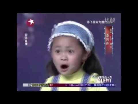Szalona dziewczynka w chińskim Mam Talent [NAPISY PL]