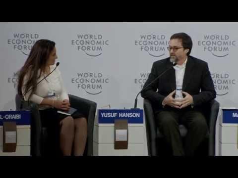 Hamza Yusuf & Tony Blair -  Davos Open Forum