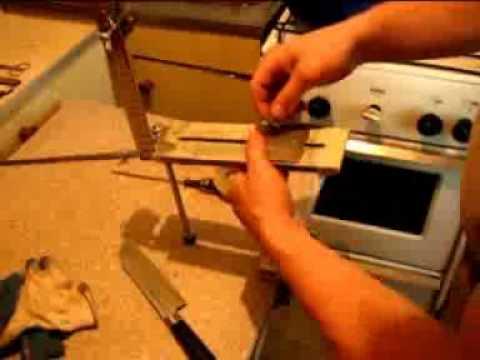 Приспособление для заточки ножей фото