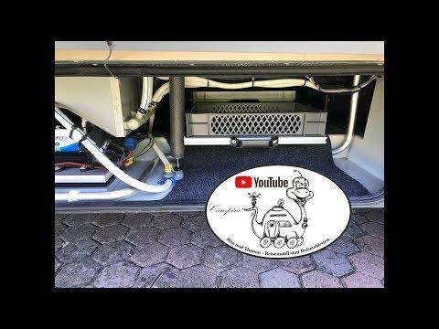 Wohnmobil-Tuning: Auszüge im Doppelboden