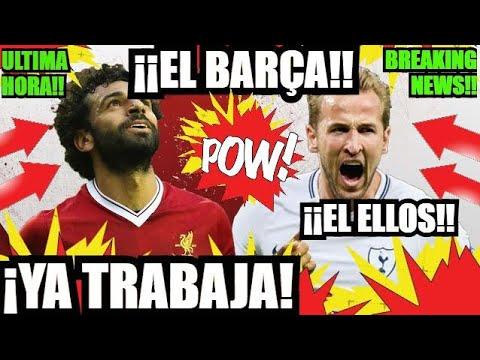 ¡¡EL BARÇA por SALAH o KANE el NUEVO LUIS SUÁREZ!! FC BARCELONA NOTICIAS FICHAJES y RUMORES thumbnail