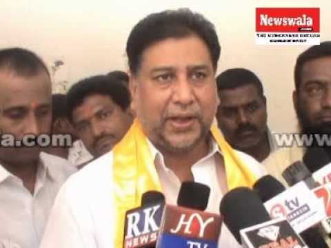 Ali Masqati, TDP leader organized rally from Kotla Alijah in connection with bandh
