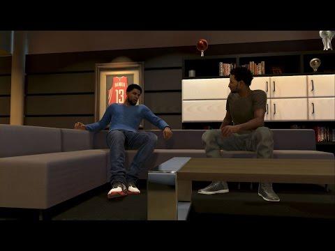 NBA 2K15 XBOX ONE My Career - Udonis Haslem Bust Through My Door!!