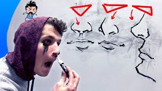 ?if you HATE drawing noses, watch this?