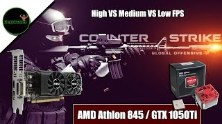 CS:GO- Athlon x4 845/ GTX 1050Ti Low Profile/ Micro ATX Pc