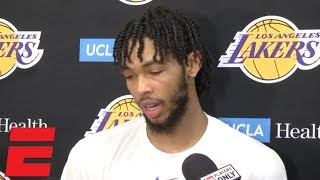 Brandon Ingram on 4-game suspension: 'I thought it'd be more'   NBA Interview