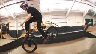 BMX - 12 YEAR OLD BEN KAVANAGH AT WOODWARD WEST.