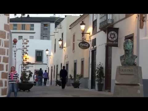 Barrio de San Juan en Telde. Isla de Gran Canaria.
