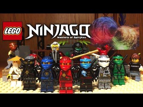 Lego NINJAGO Hands Of Time Display and Custom Minifigures Showcase Season 7 Ninjago 2017