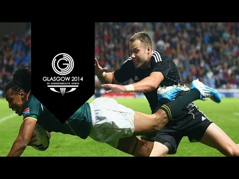 South Africa win Gold in Rugby Sevens - Day 4 Highlights Part 9  | Glasgow 2014 klip izle
