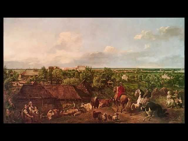 Polska muzyka barokowa  Mielczewski Canzona secunda a due Polish baroque music  dawna Warszawa