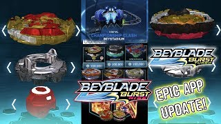 TURBO SPRYZEN S4 + PERFECT PHOENIX + NEW SET EPIC BEYBLADE BURST RISE HYPERSPHERE APP UPDATE