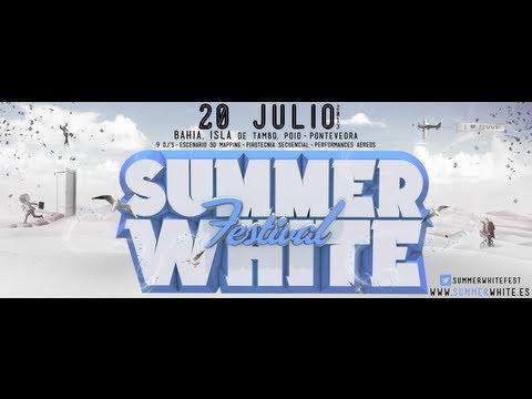 Summer White Festival 2013 @ Bahia de Tambo Poio    Pontevedra)    VIDEOFLYER
