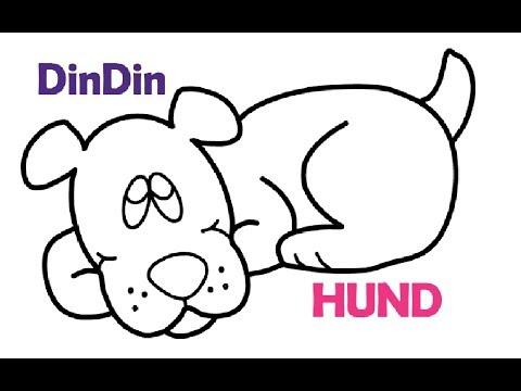 Wie zeichnet man HUND | Tier Malvorlagen für Kinder | HUND für Kleinkinder