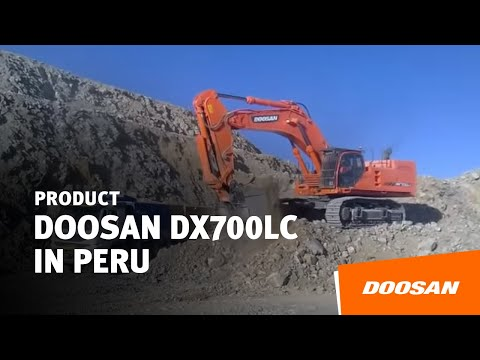 Doosan DX700LC in Peru
