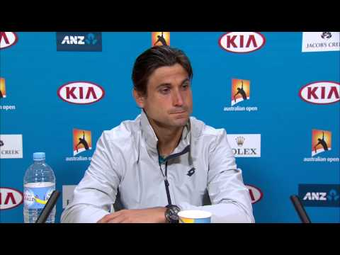 David Ferrer press conference (4R) - Australian Open 2015