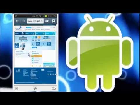 Configurar internet CNT en android