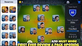 First Ever!! Pack Opening & Review, First Impression In Pes 2019 Mobile