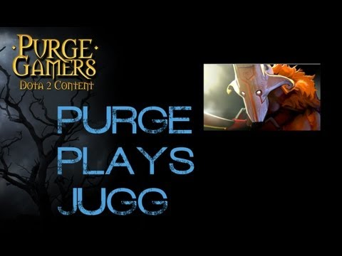 Dota 2 Purge plays Juggernaut