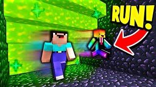 Minecraft RUN FROM THE SLIME! with PrestonPlayz