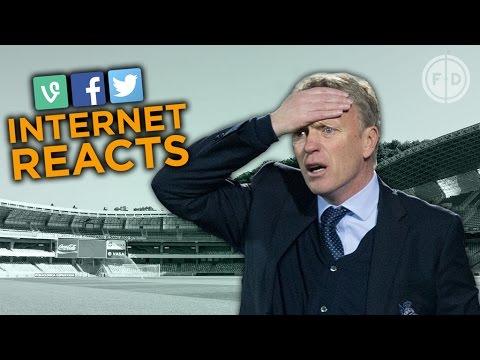David Moyes SACKED again! | Internet Reacts