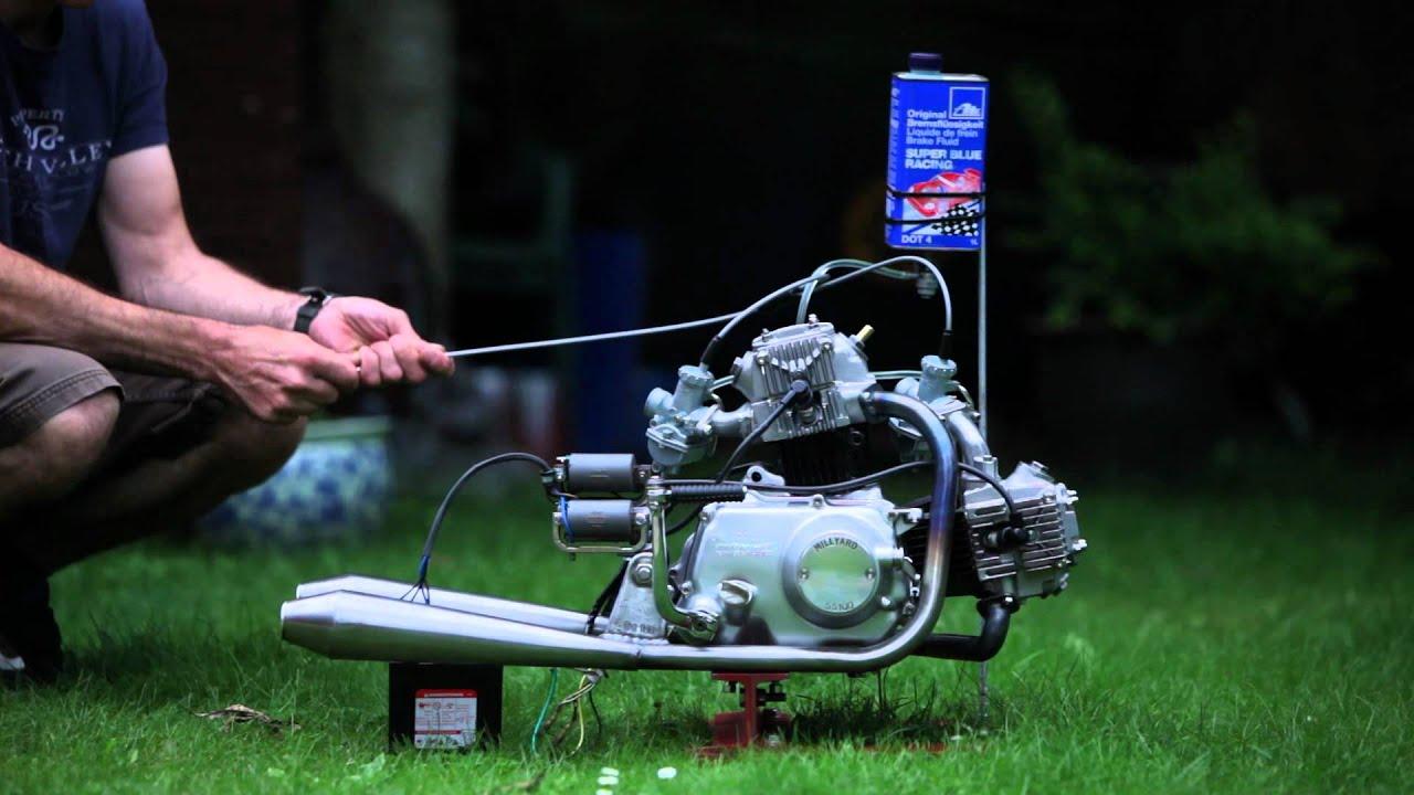 Honda V Twin Motorcycle Engines