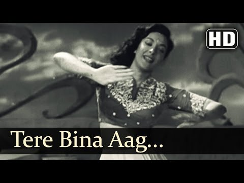 Tere Bina Aag Ye Chandni (HD) - Awara - Raj Kapoor - Nargis Dutt - Manna Dey - Lata Mangeshkar