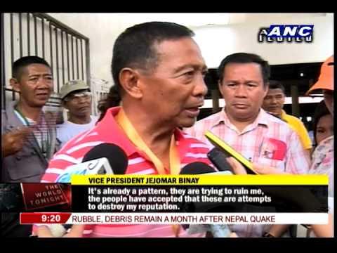 Binay dares Mercado to return kickbacks