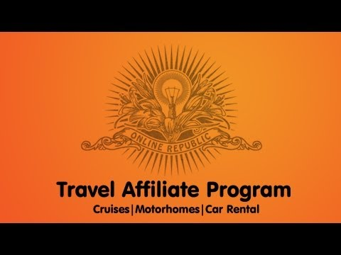 Travel Affiliate and Publisher Program | Cruise Holidays, Car Rental, RV & Motorhomes