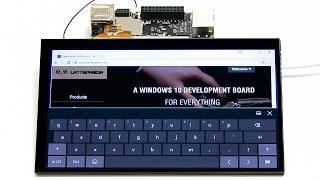 LattePanda IPS Display & Touch Panel