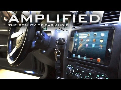 iPad mini Installed into the Dash of a Chrysler 300. FLOAT-MOUNT - Amplified #91