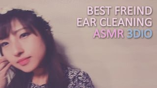 (ENG)ASMR. 베프의 쇠귀이개 귀청소 Best Friend Ear Cleaning w/Metal Earpicks♡Personal Attention♡