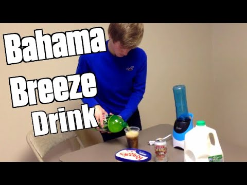 How to Make The Bahama Breeze Drink Mix