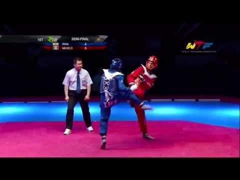 [S-Final Male] IRAN vs MEXICO | 2014 WTF WORLD CUP TAEKWONDO TEAM CHAMPIONSHIPS