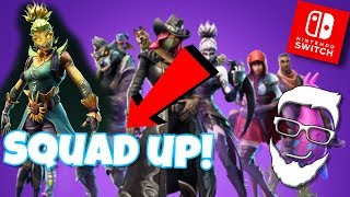 Nintendo Switch Fortnite ~ Join the Squad! ~ Mike CantGame