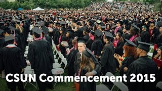CSUN Commencement 2015: Curb College of Arts, Media, and Comm.