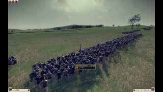 rome 2 cohortal legion battle MACHINIMA