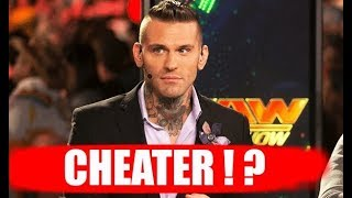 Corey Grave's WIFE says he CHEATED !!  - WWE Star Blasted !