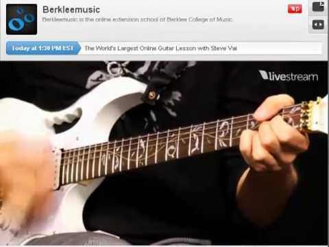 Steve Vai - 10-hour Guitar Workout