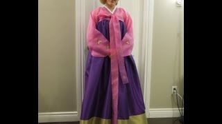 How to Make a Korean Hanbok Chima Skirt