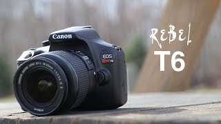 Canon EOS Rebel T6 DSLR Camera Unboxing Review