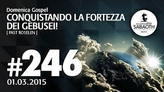 Domenica Gospel @ Milano   Conquistando la fortezza dei Gebusei! - Pastore Roselen   01.03.2015