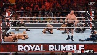 Royal Rumble match - WWE Royal Rumble 2017 Highlights HD