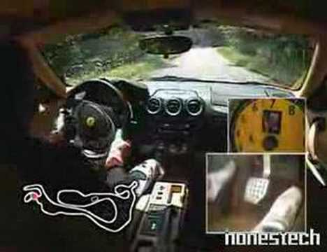 ferrai 430 in circuit touge