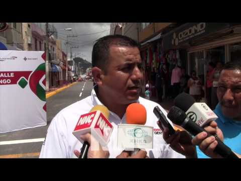 De nuevo a la circulación calle Durango de Tepic