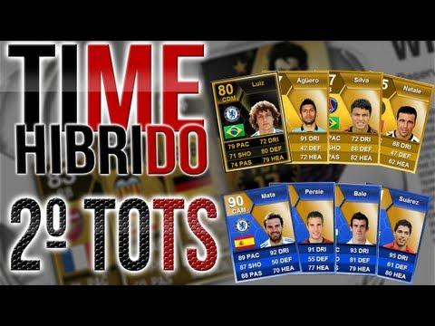 TOTS Barclays + Time Híbrido(SENSACIONAL) | FIFA 13 - UT [PT-BR]