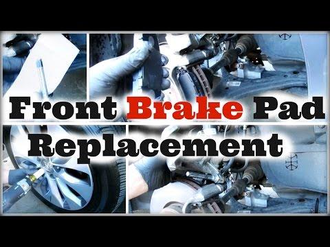 DIY 2013 2014 2015 2016 Honda Accord Front Brake Pad Replacement - DiyCarModz