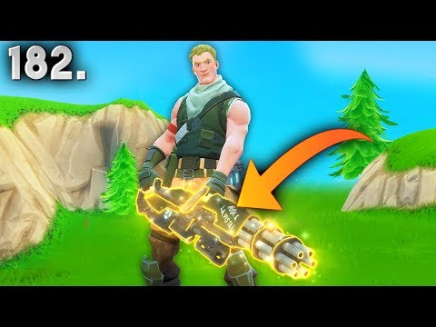 NEW MINIGUN..!! | Fortnite Daily Best Moments Ep.182 (Fortnite Battle Royale Funny Moments)