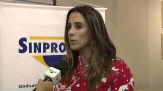 Vanessa Santos - Posse da Diretoria 2015/2017